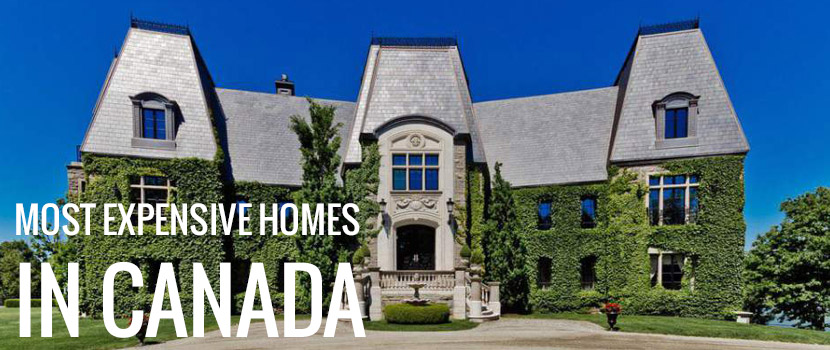 The 10 most expensive homes in canada homebase mortgages for Home builders in canada